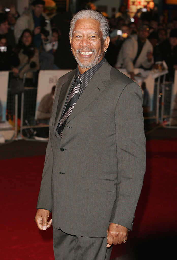 Morgan Freeman 2008