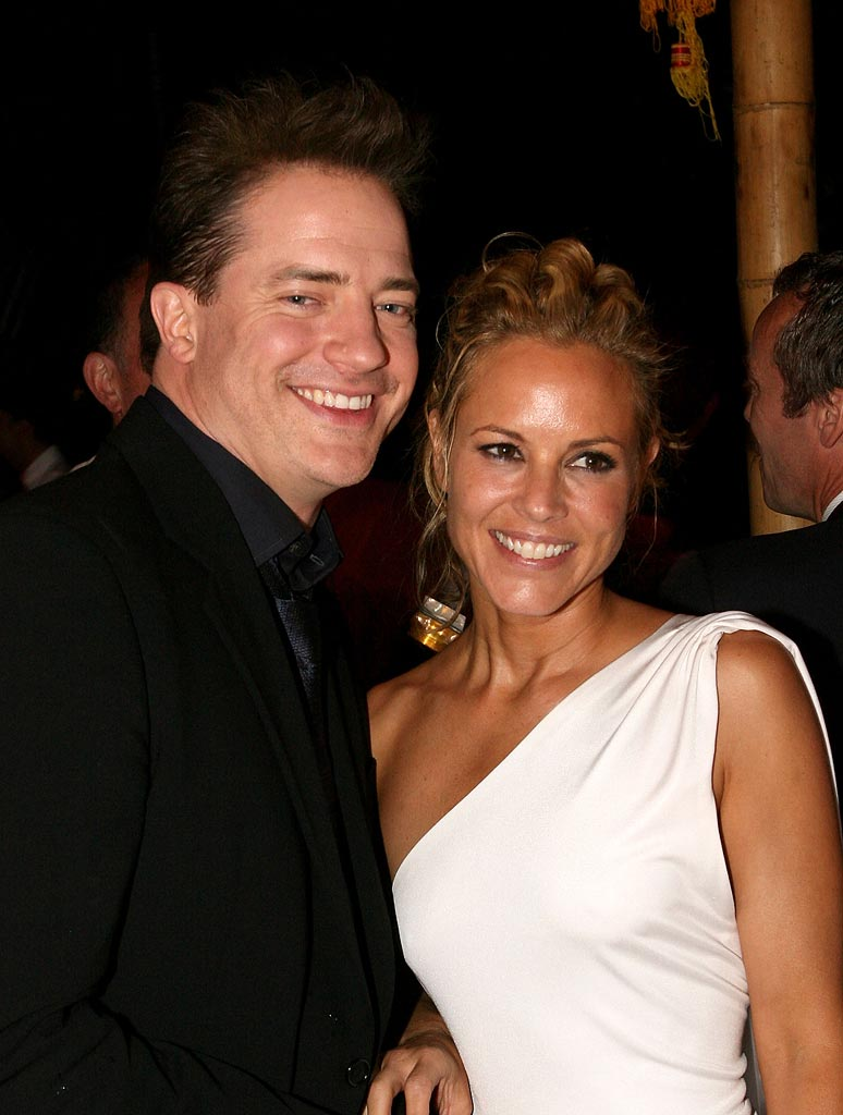 The Mummy Tomb of the Dragon Emperor Premiere 2008 Brendan Fraser Maria Bello