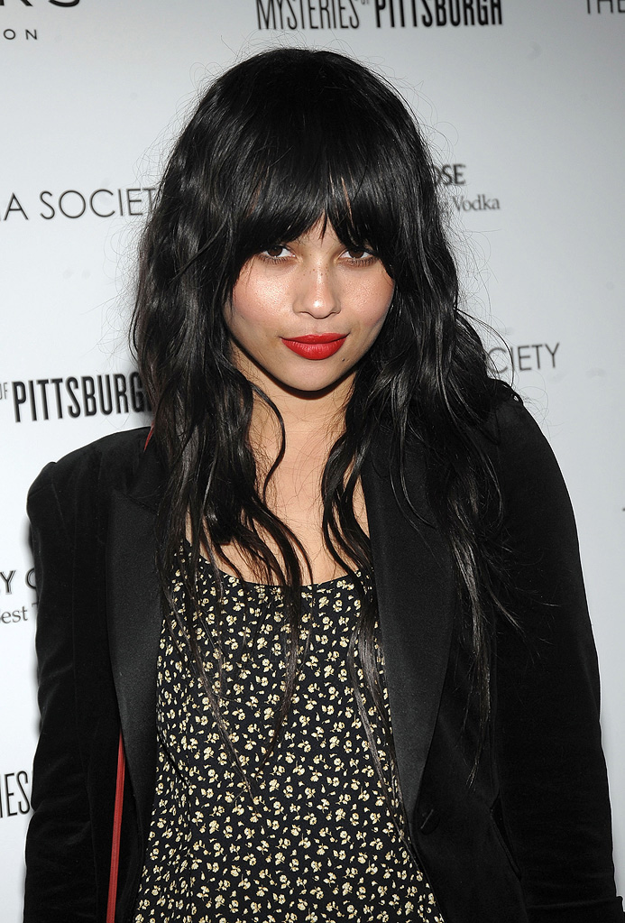 The Mysteries of Pittsburgh Premiere NY 2009 Zoe Kravitz