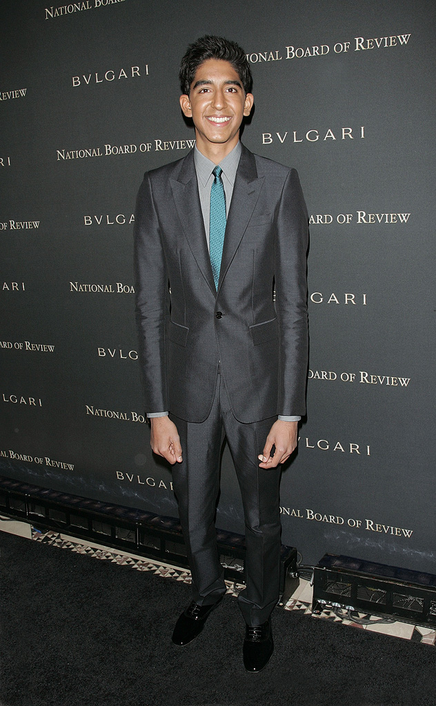 National Board of Review of Motion Pictures Awards Gala New York 2009 Dev Patel