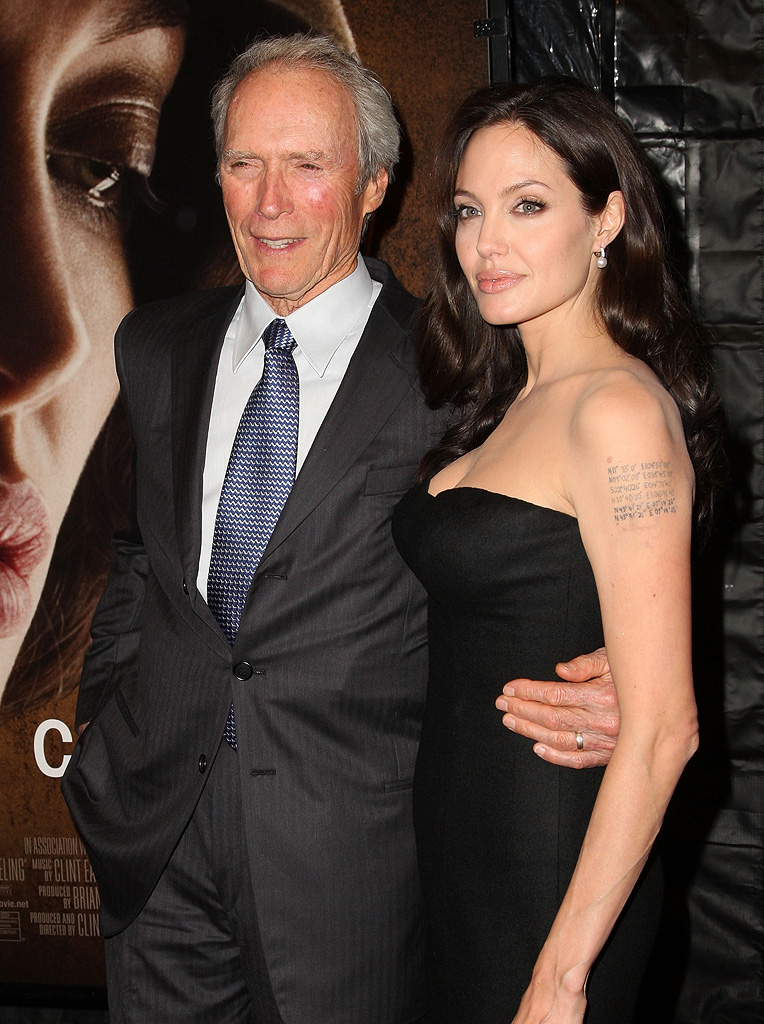New York Film Festival 2008 Changeling Premiere Clint Eastwood Angelina Jolie