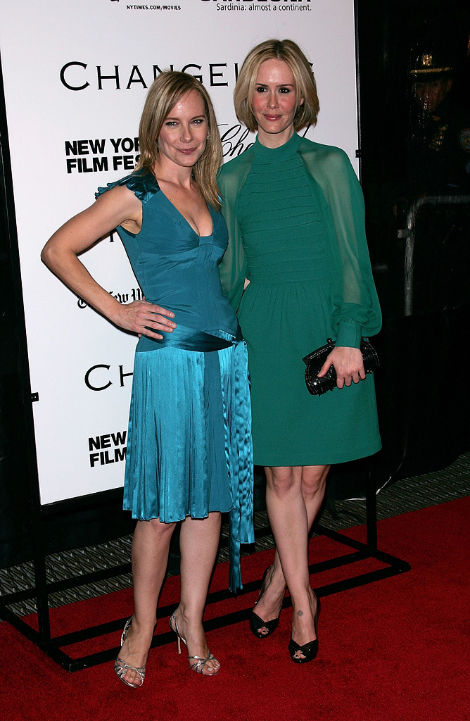New York Film Festival 2008 Changeling Premiere Sarah Paulson Amy Ryan