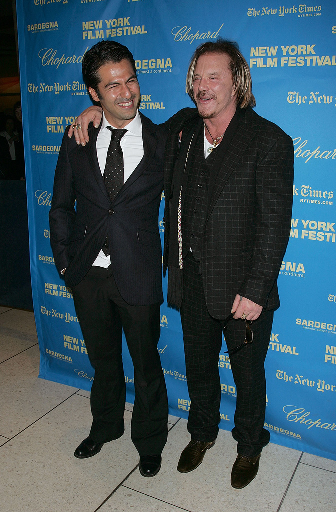 New York Film Festival The Wrestler Premiere 2008 Armin Amiri Mickey Rourke