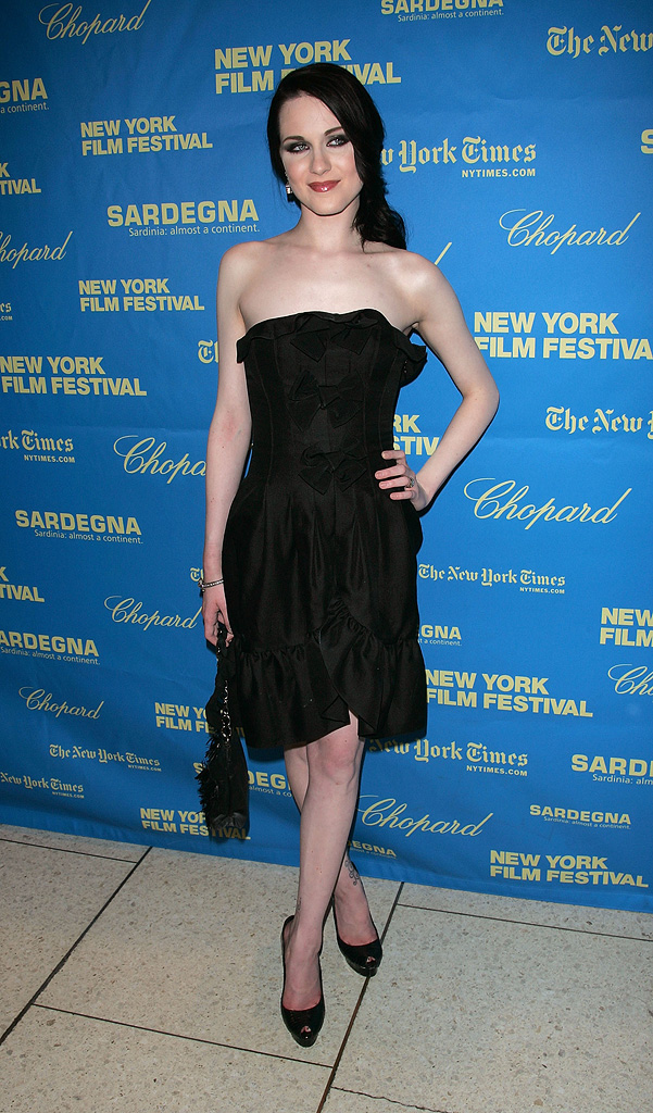 New York Film Festival The Wrestler Premiere 2008 Evan Rachel Wood