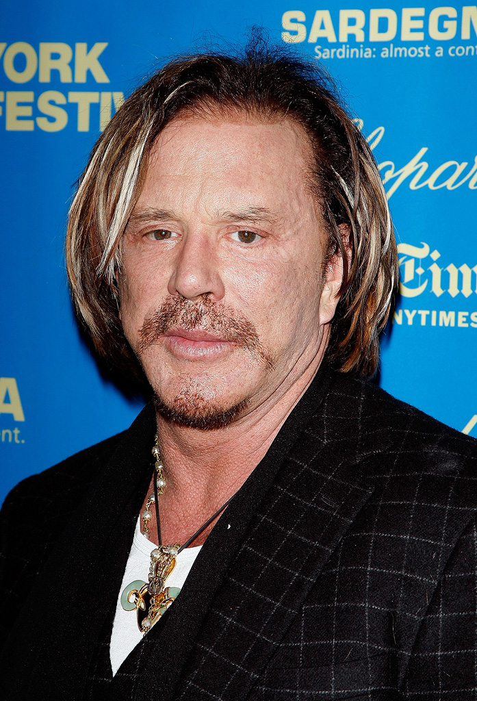 New York Film Festival The Wrestler Premiere 2008 Mickey Rourke