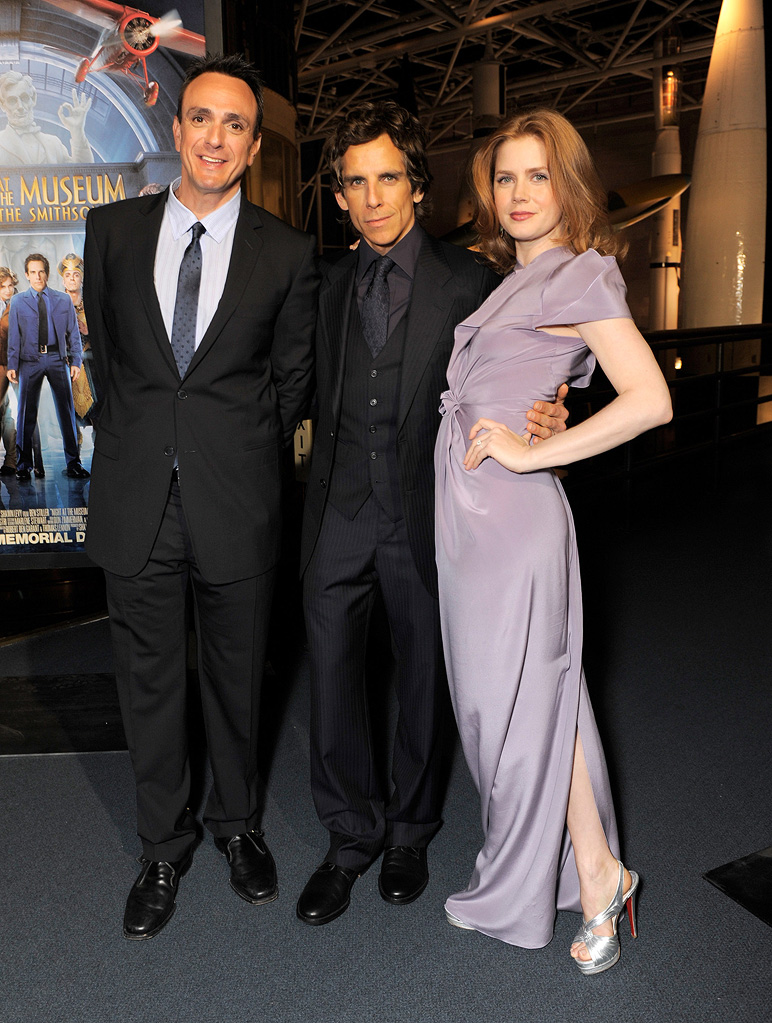 Night at the Museum 2 DC premiere 2009 Hank Azaria Ben Stiller Amy Adams