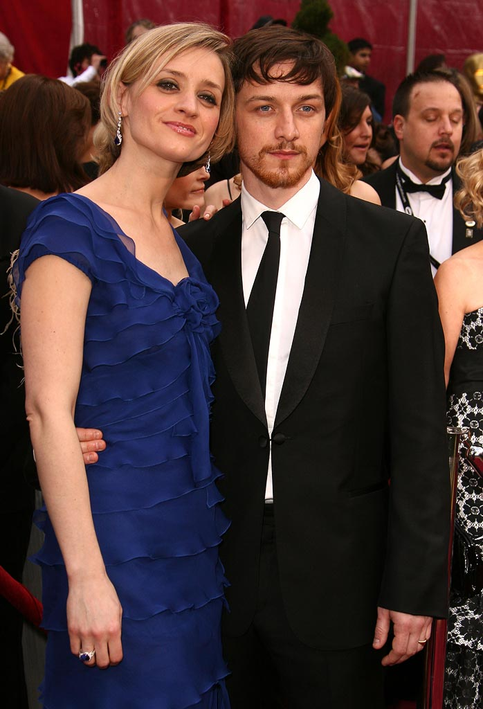 Oscars 2008 James McAvoy AnneMarie Duff