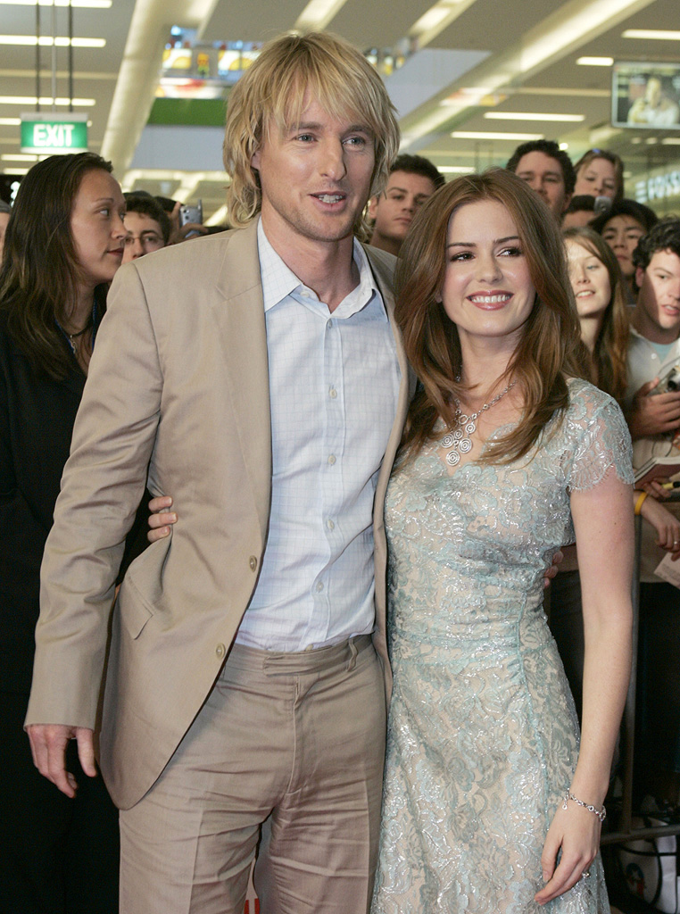 Owen Wilson Isla Fisher 2005