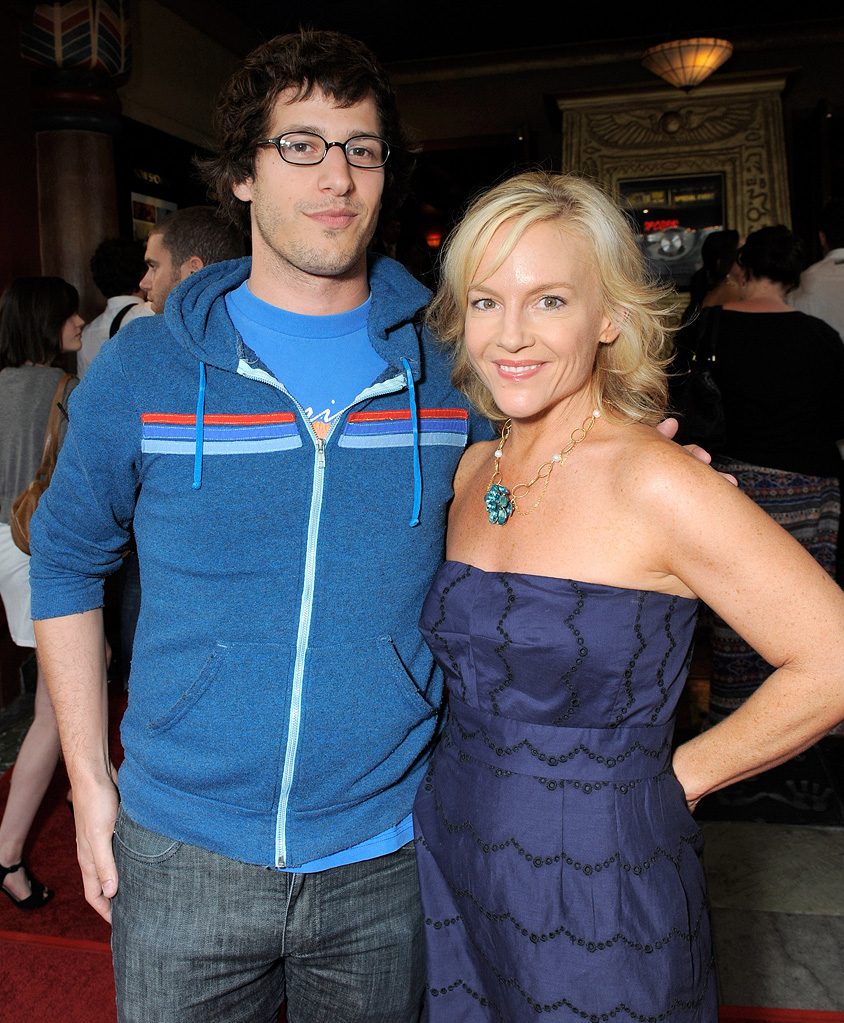 Paper Heart LA Screening 2009 Andy Samberg Rachael Harris