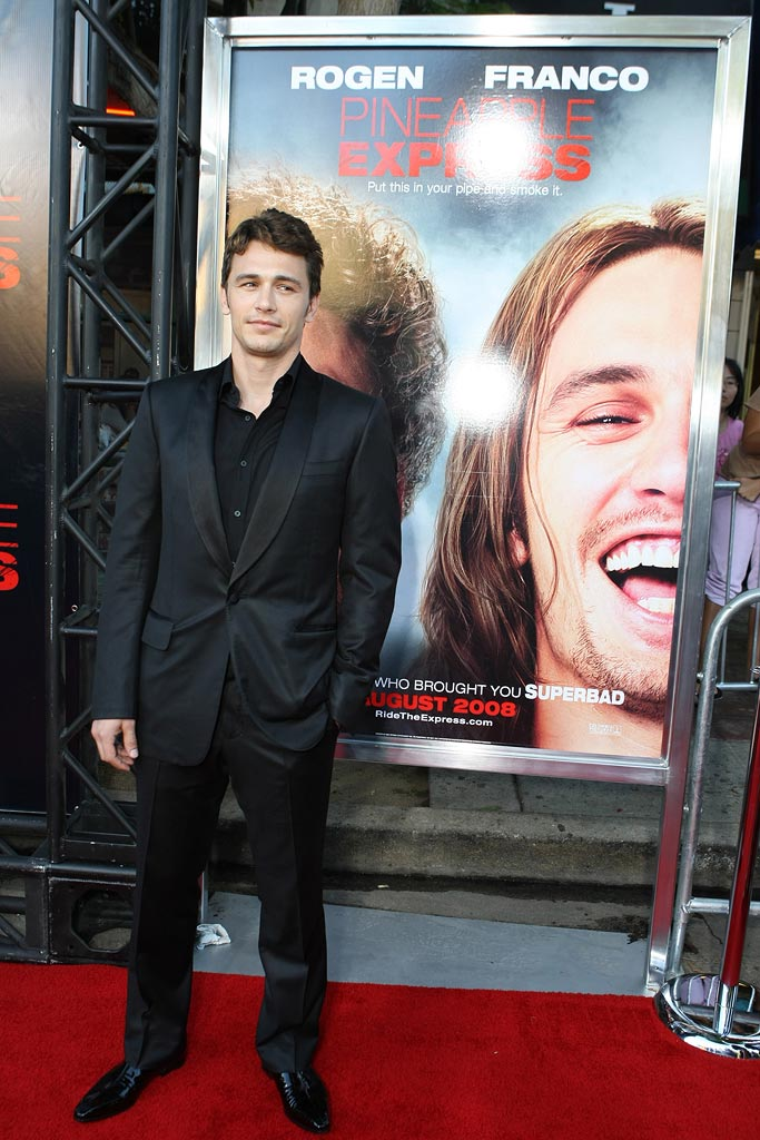 Pineapple Express Premiere LA 2008 James Franco