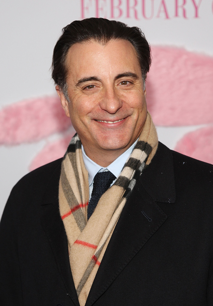 The Pink Panther 2 NY premiere 2009 Andy Garcia