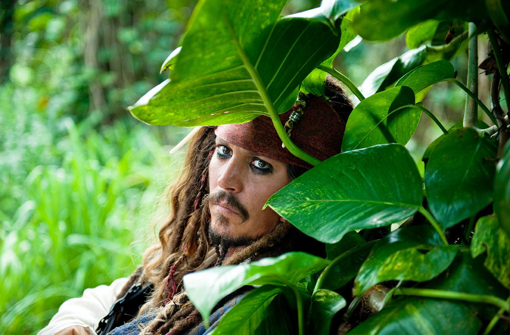 Johnny Depp in Walt Disney Pictures' 'Pirates of the Carribean: On Stranger Tides'
