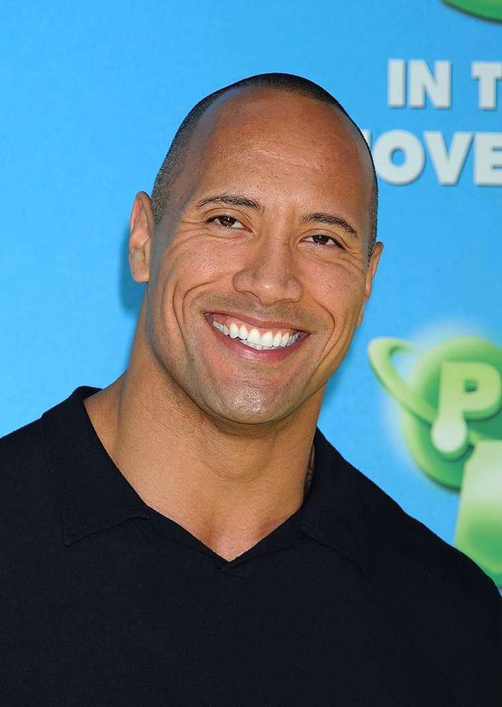 Planet 51 LA Premiere Dwayne the Rock Johnson
