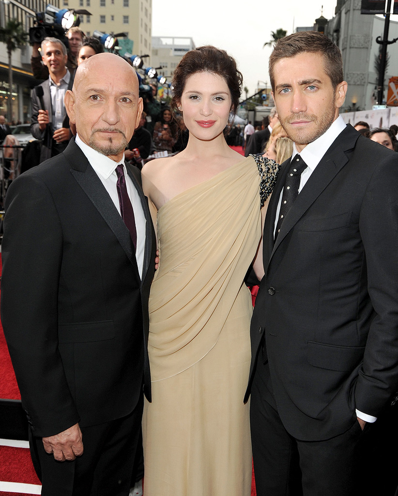 Prince of Persia Sands of Time LA Premiere 2010 Ben Kingsley Gemma Arterton Jake Gyllenhaal