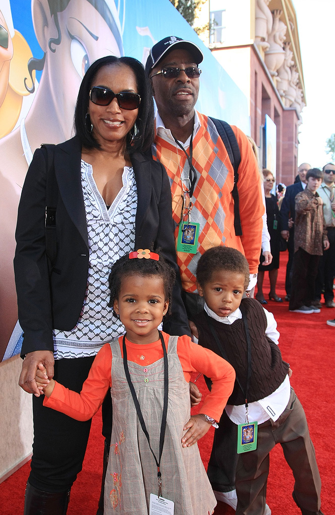 The Princess and the Frog LA Premiere 2009 Angela Bassett Courtney B. Vance