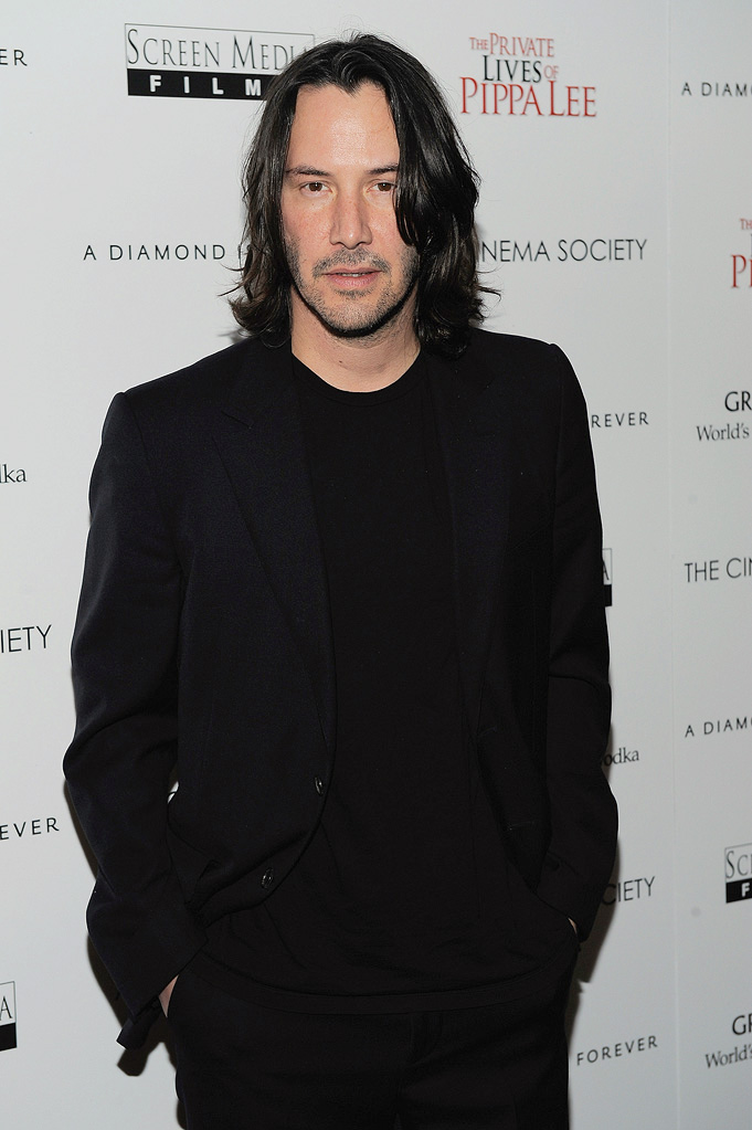The Private Lives of Pippa Lee NYC Screening 2009 Keanu Reeves