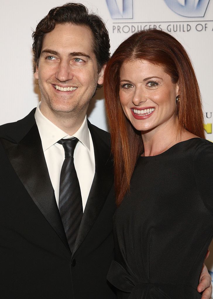 Producers Guild Awards 2009 Debra Messing Daniel Zelman