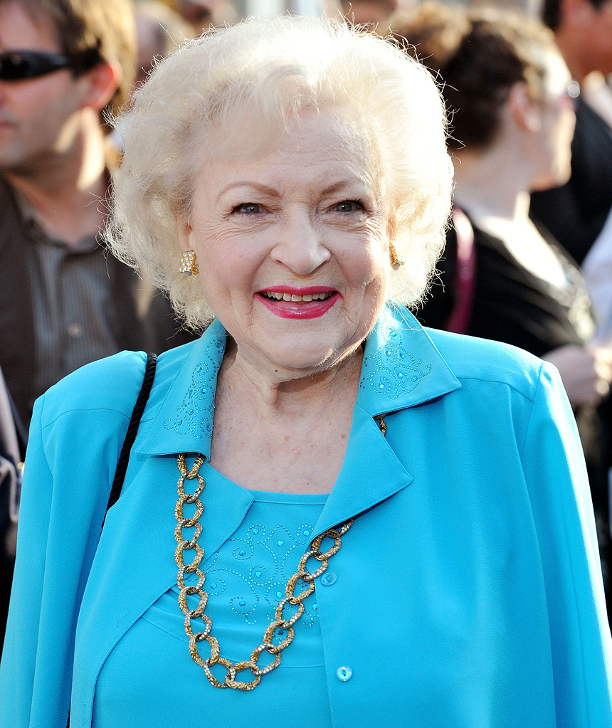 The Proposal LA premiere 2009 Betty White