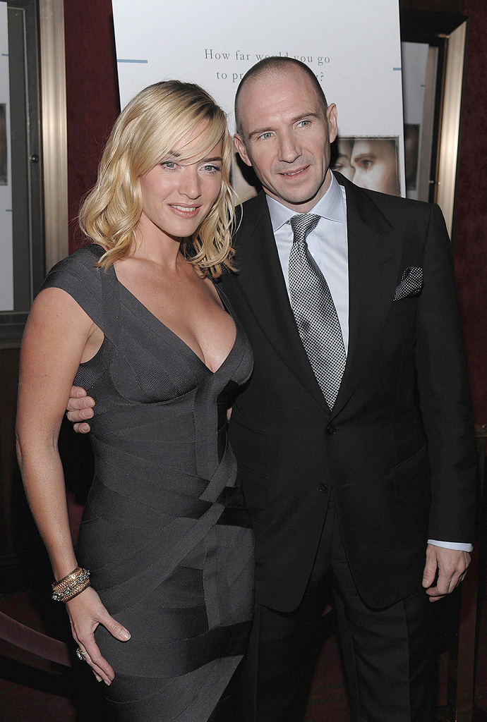 Ralph Fiennes And Wife...