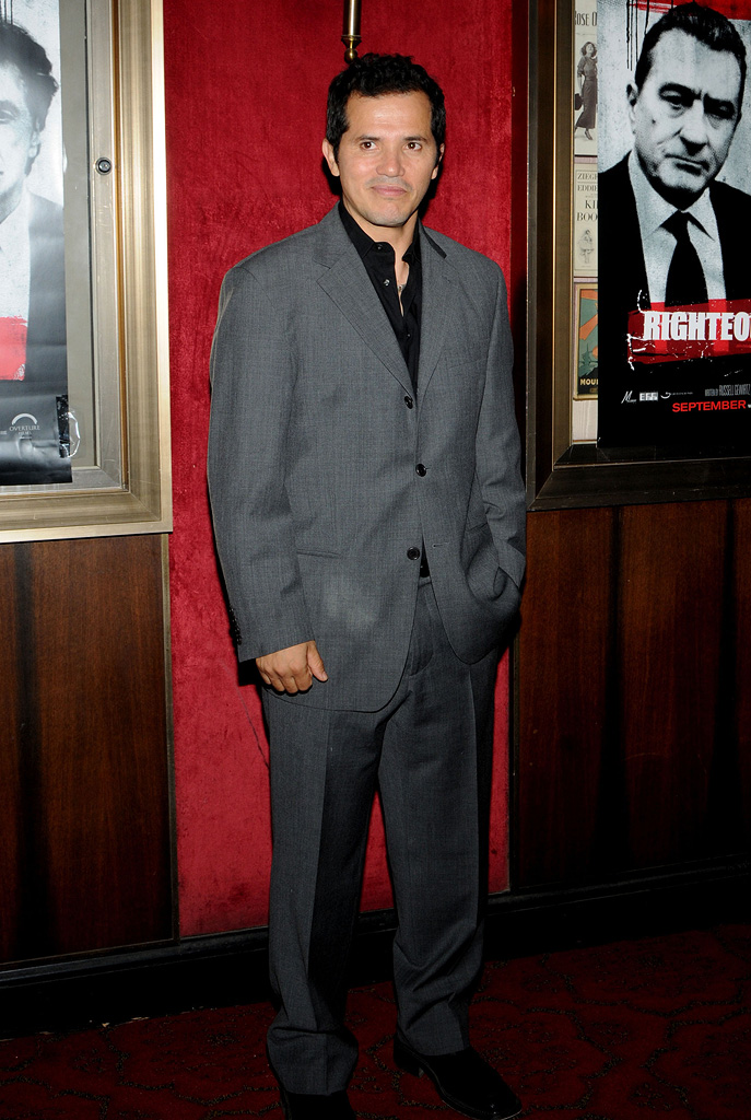 Righteous Kill NY Premiere 2008 John Leguizamo