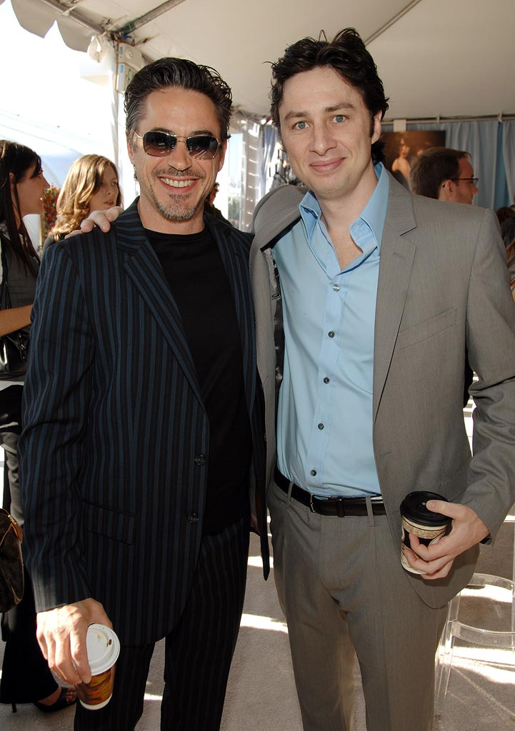 Robert Downey Jr Zach Braff 2007