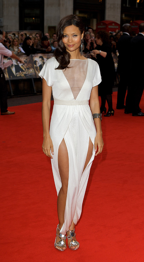 RocknRolla Premiere UK 2008 Thandie Newton