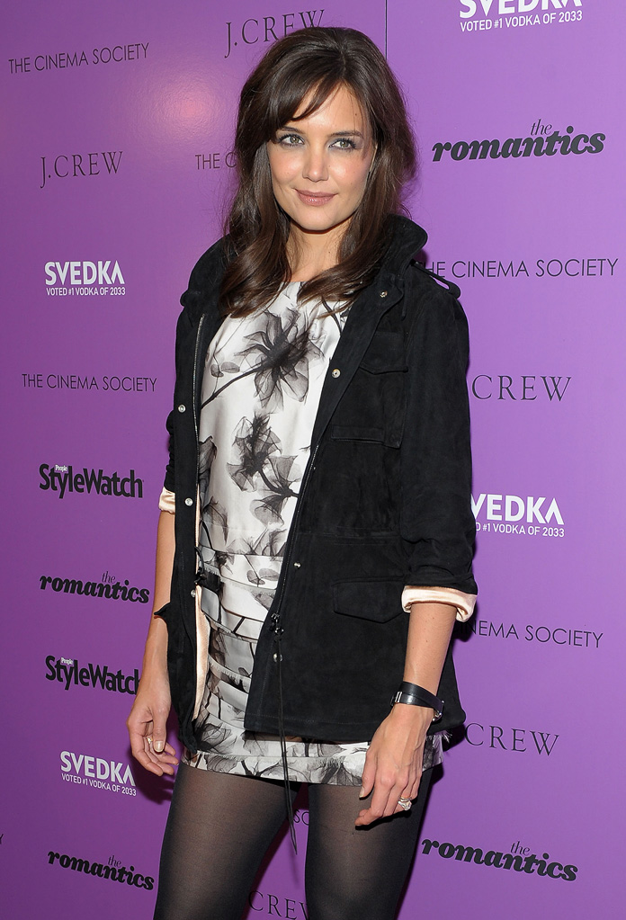 The Romantics NYC Screening 2010 Katie holmes