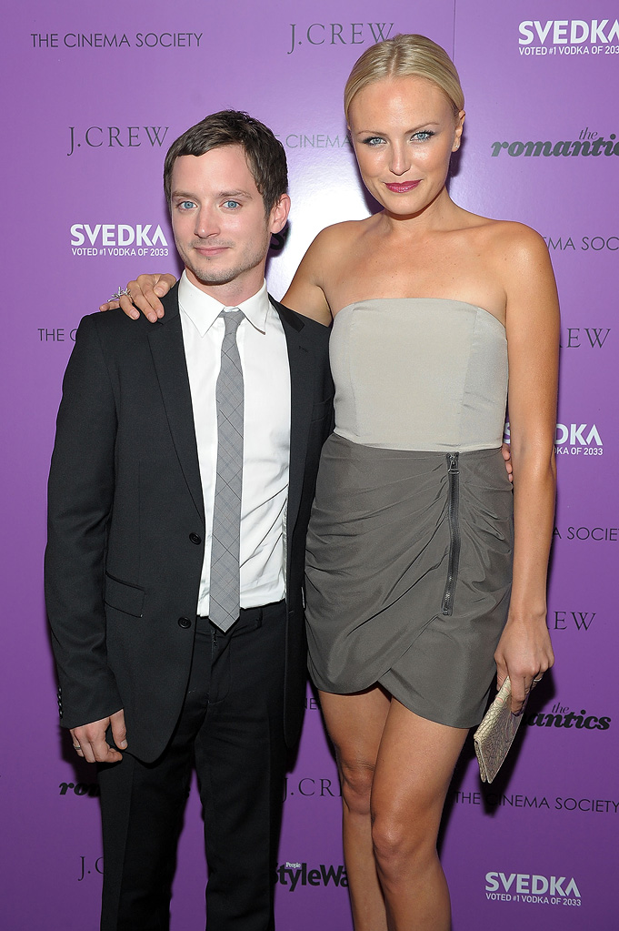 The Romantics NYC Screening 2010 Malin Akerman Elijah wood