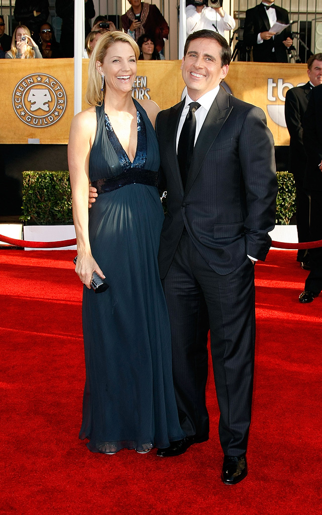 SAG Awards 2009 Steve Carell Nancy Walls