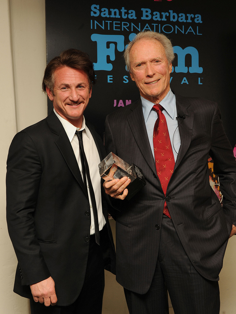 Santa Barbara International Film Festival 2009 Sean Penn Clint Eastwood