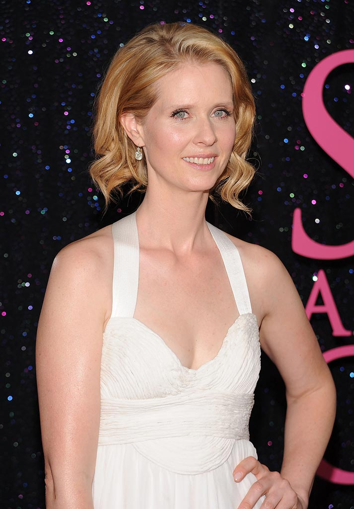 Sex and the City NY 2008 Cynthia Nixon