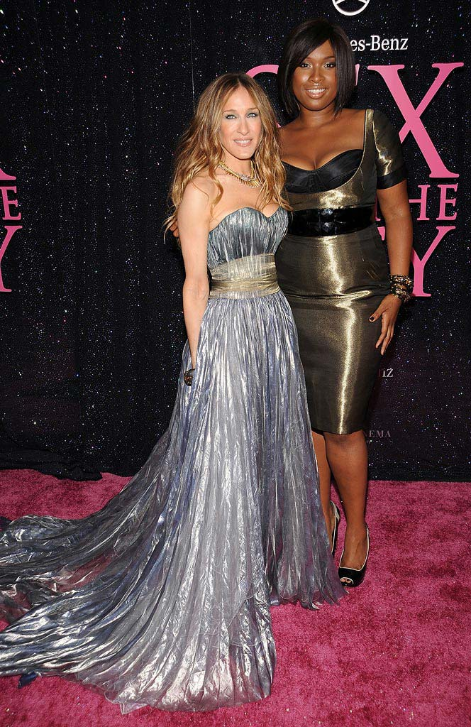 Sex and the City NY 2008 Sarah Jessica Parker Jennifer Hudson