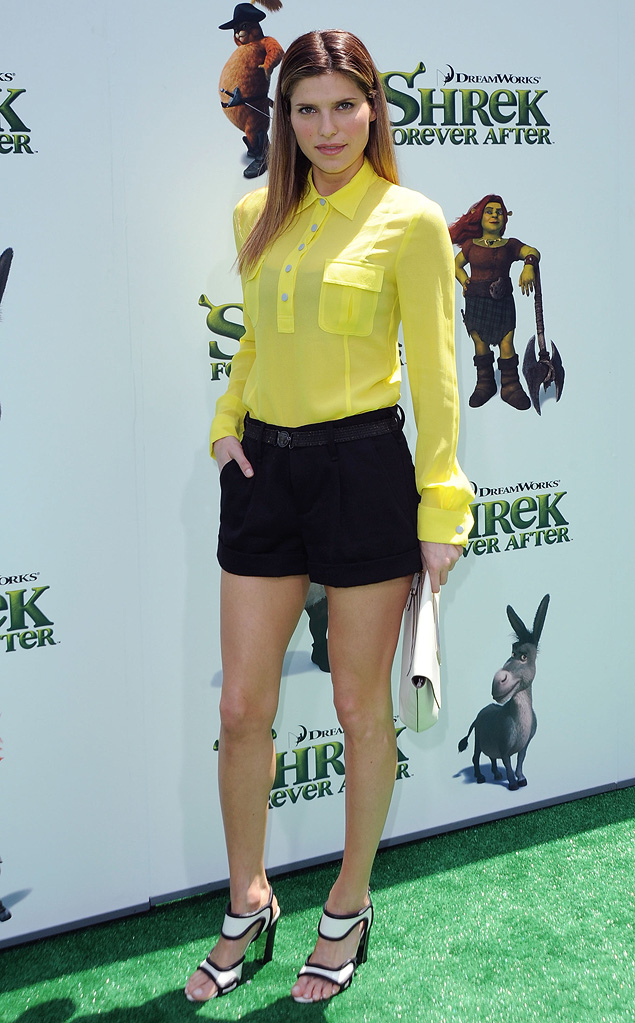 Shrek Forever After LA Premiere 2010 Lake Bell