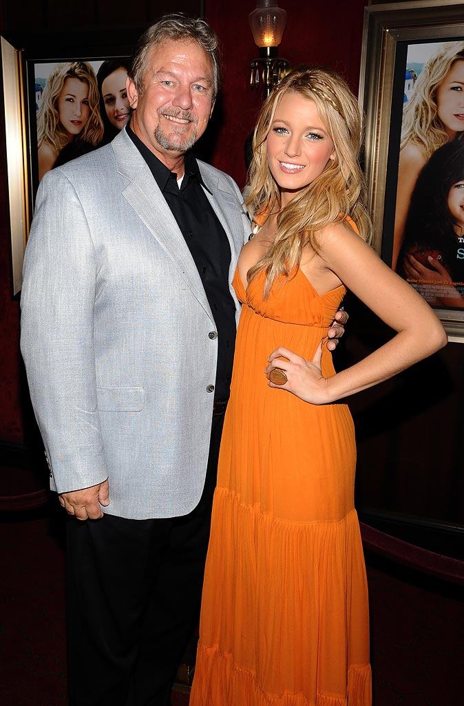 The Sisterhood of the Traveling Pants Premiere 2008 Ernie Lively Blake Lively