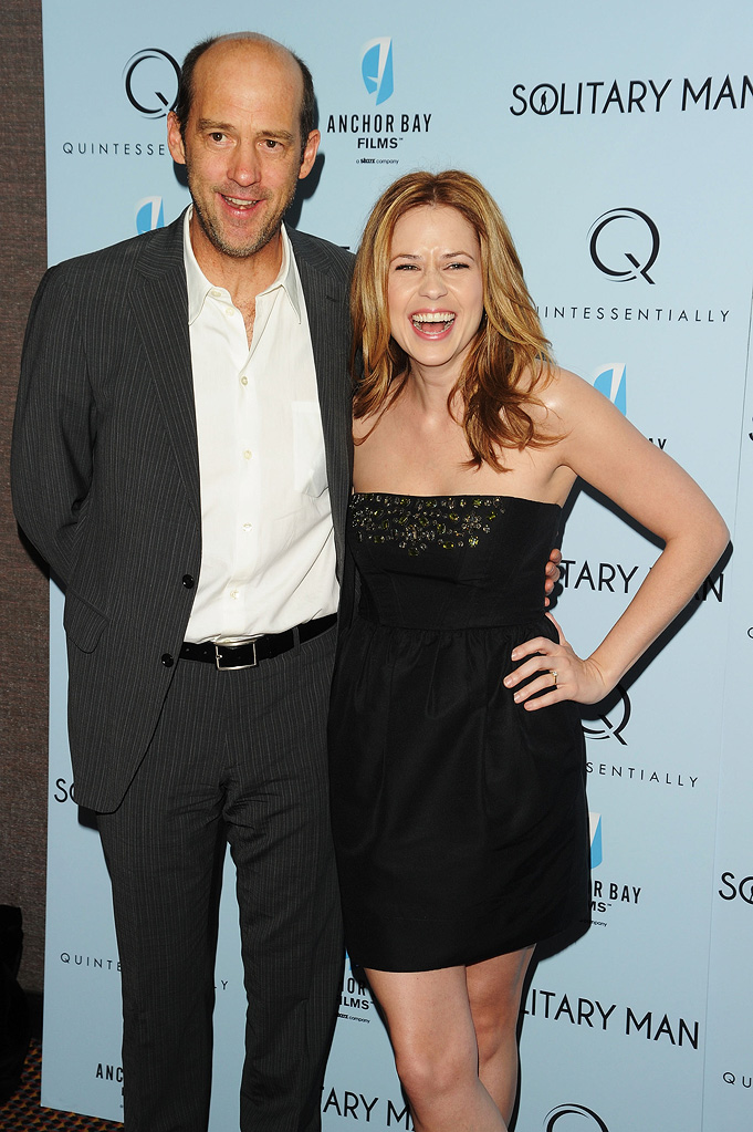 Solitary Man NY Premiere 2010 Anthony Edwards Jenna Fischer