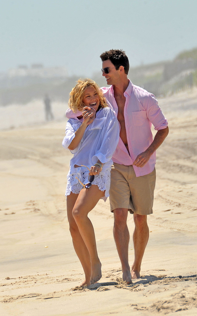 Spotted on Set May 2010 Kate Hudson Colin Egglesfield