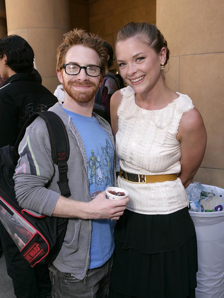 Star Wars Clone Wars Premiere 2008 Seth Green Jamie King
