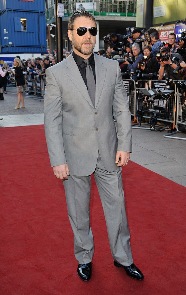 State of Play UK Premiere 2009 Russell Crowe