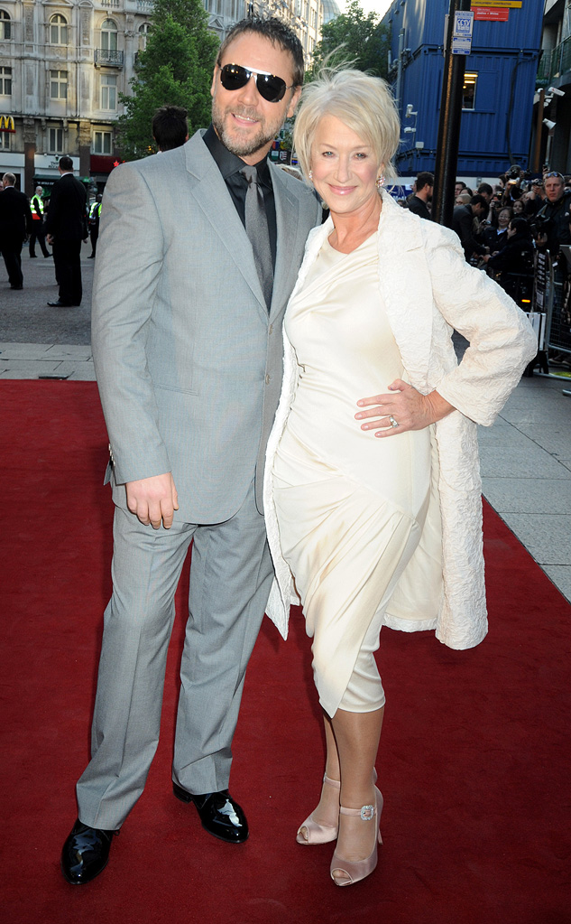 State of Play UK Premiere 2009 Russell Crowe Helen Mirren