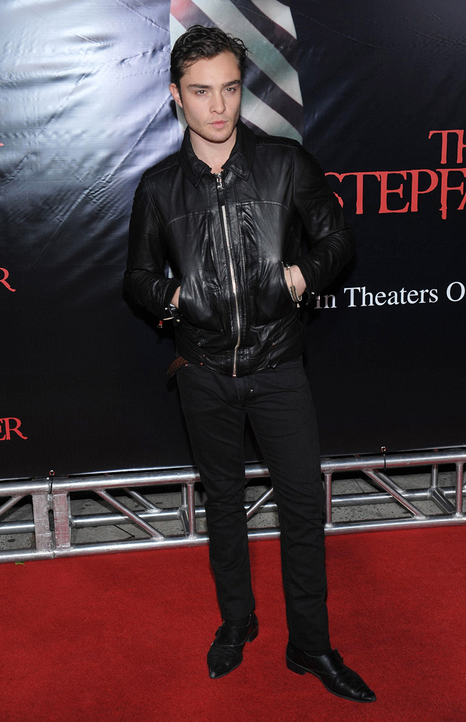 The Stepfather NY Premiere 2009 Ed Westwick