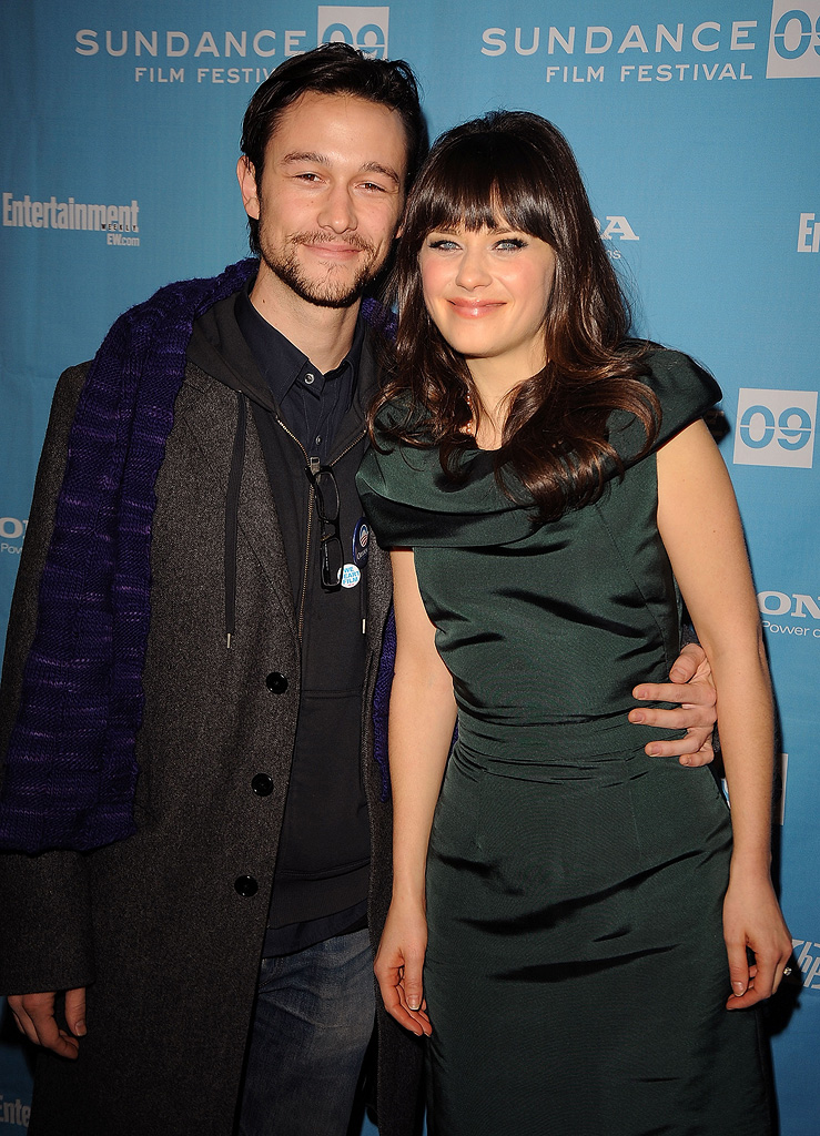 Sundance Film Festival Screening 2009 Joseph Gordon Levitt Zooey Deschanel