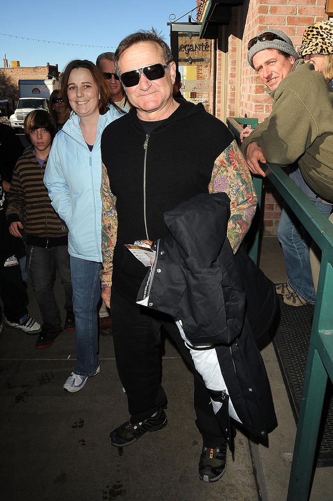 Sundance Film Festival Town Candids 2009 Robin Williams