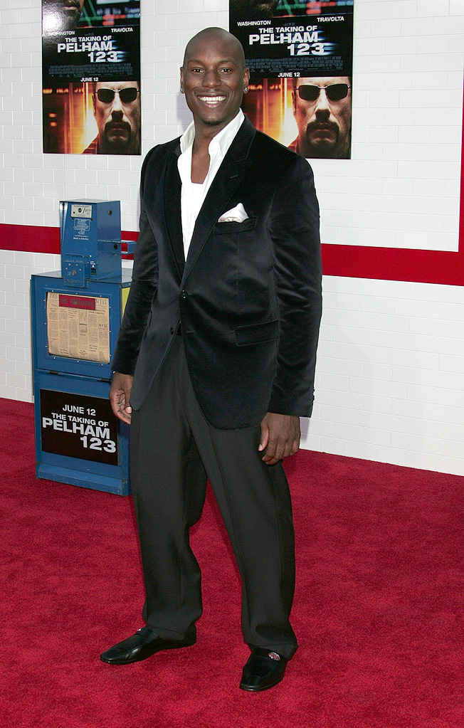 The Taking of Pelham 123 LA Premiere 2009 Tyrese Gibson
