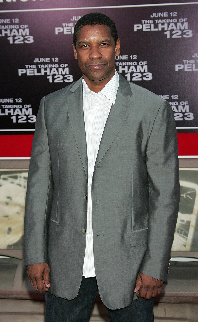 The Taking of Pelham 123 Premiere 2009 Denzel Washington