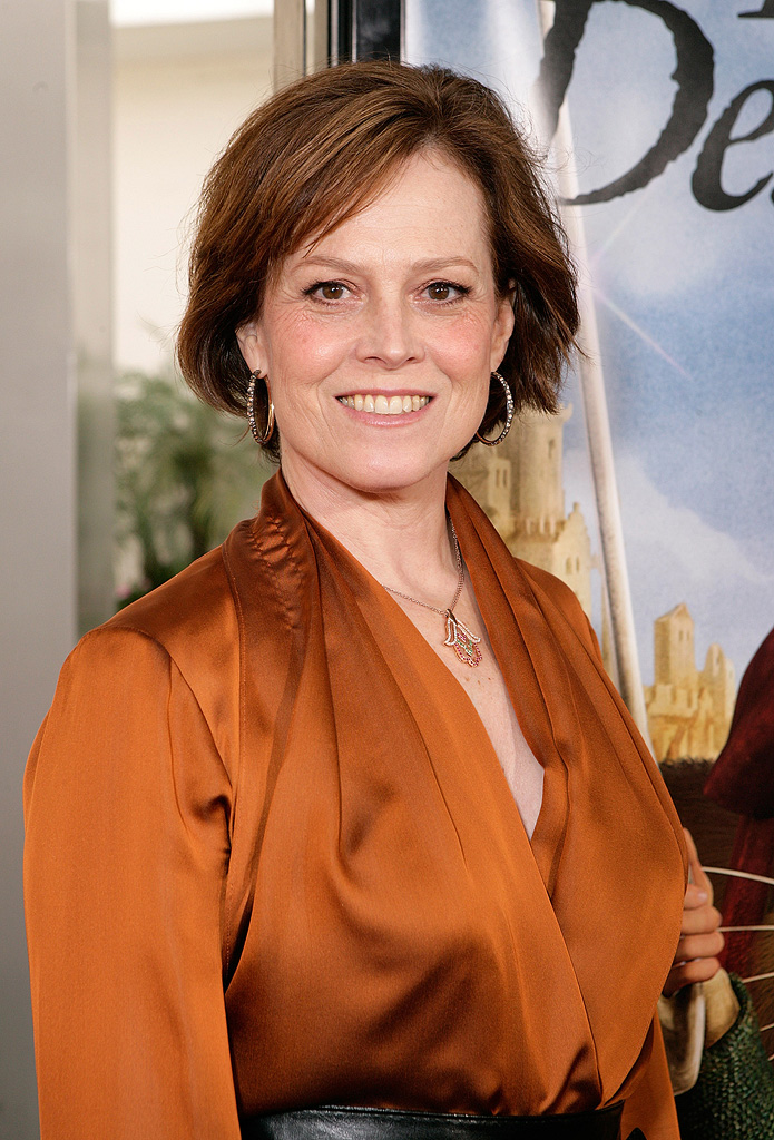 The Tale of Despereaux LA Premiere 2008 Sigourney Weaver