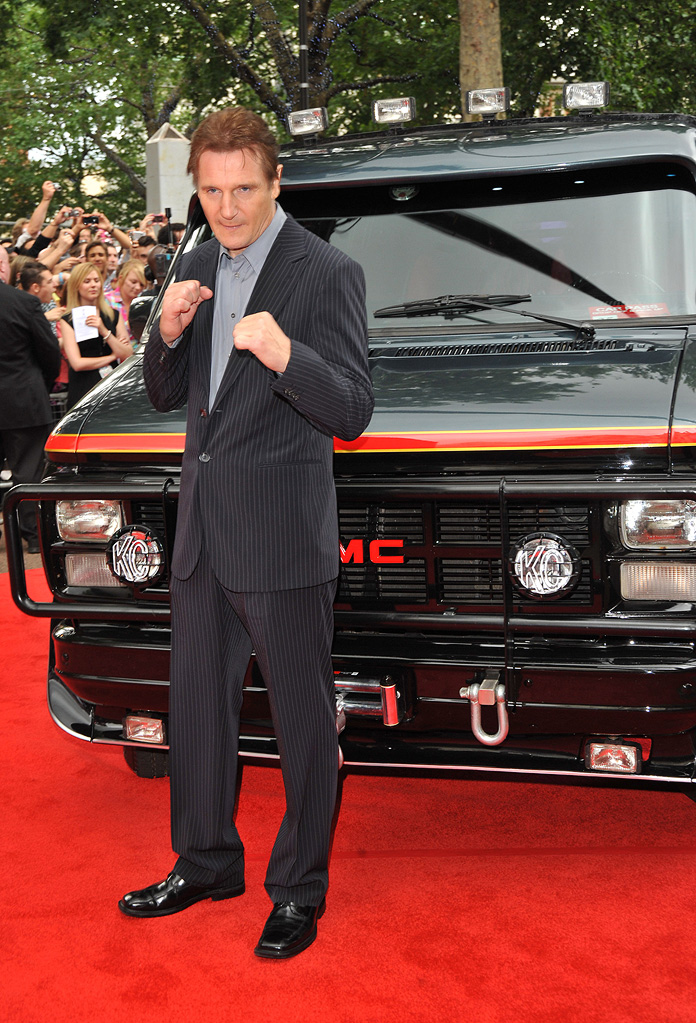 A Team UK Premiere 2010 Liam Neeson