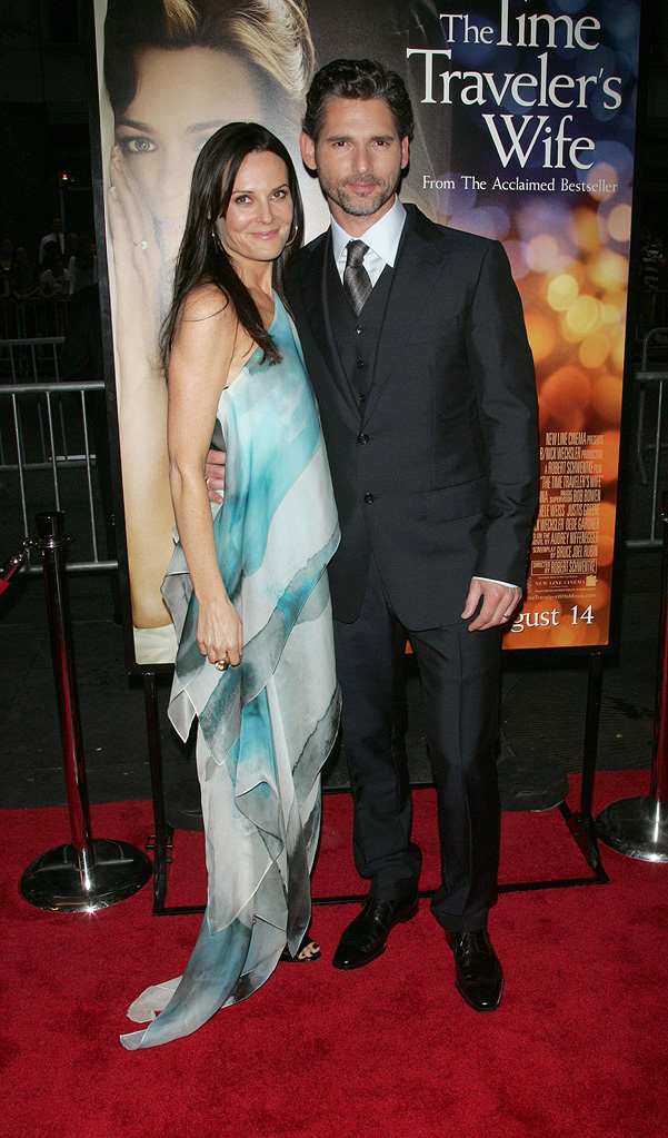 The Time Traveler's Wife NY Premiere 2009 Eric Bana Rebecca Gleeson