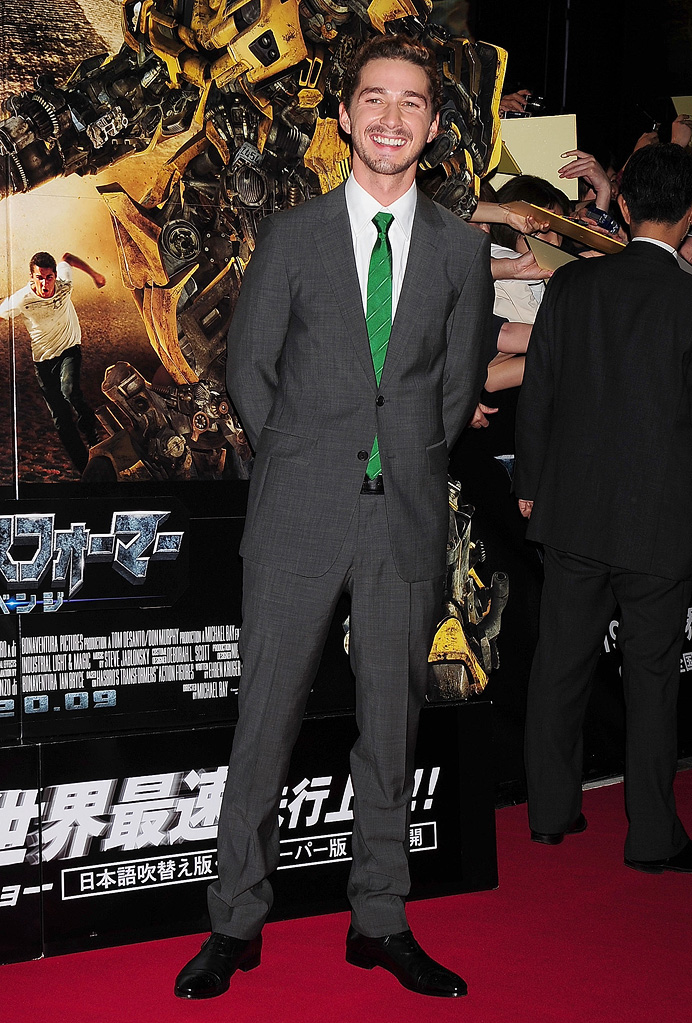 Tranformers Revenge of the Fallen Japan Premiere 2009 Shia LaBeouf