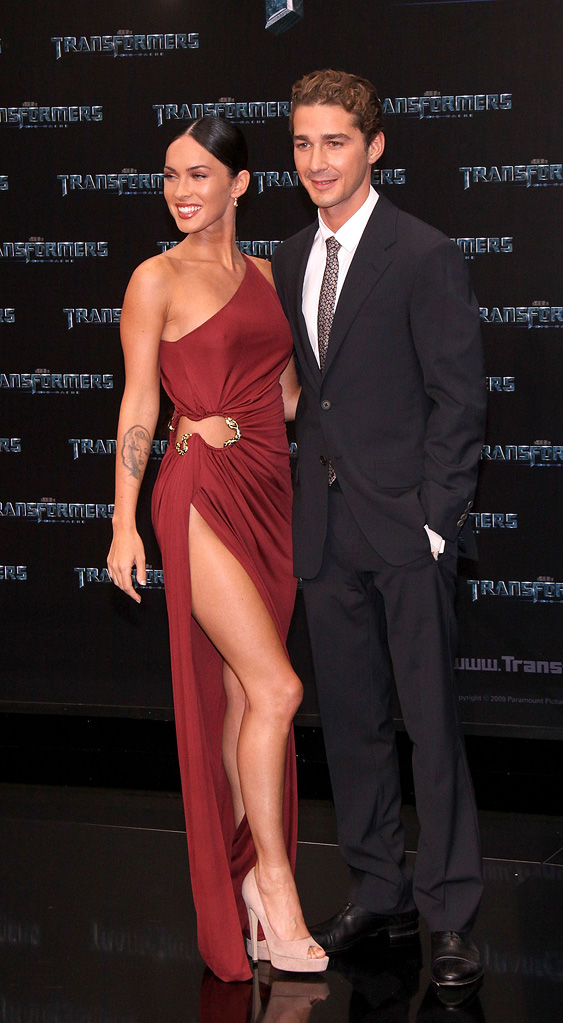Transformers Revenge of the Fallen Berlin Premiere 2009 Megan Fox Shia LaBeouf