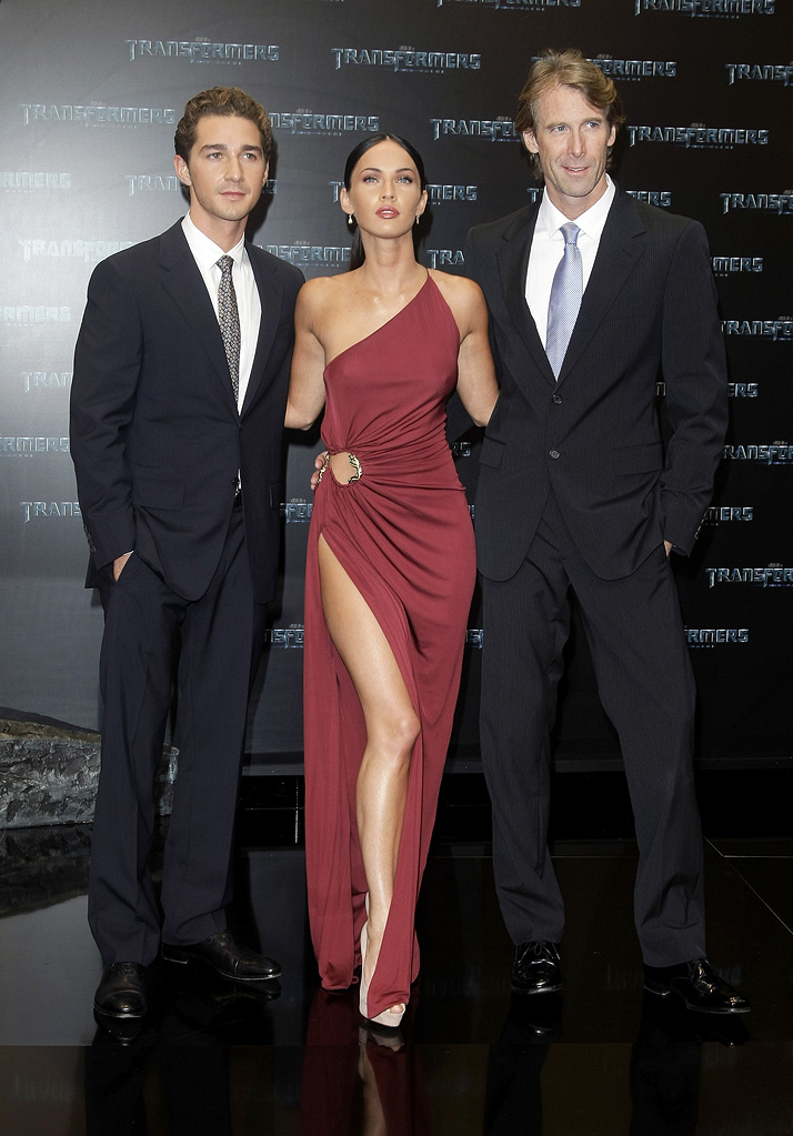 Transformers Revenge of the Fallen Berlin Premiere 2009 Shia LaBeouf Megan Fox Michael Bay